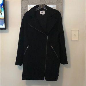 Asymmetrical ZIP Coat